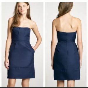 J. Crew strapless dress with sweetheart neckline